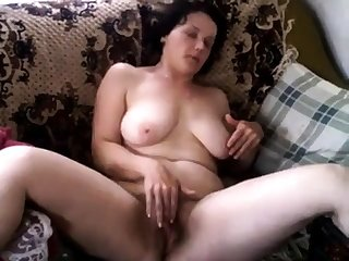 Non-professional Mature Masturbation