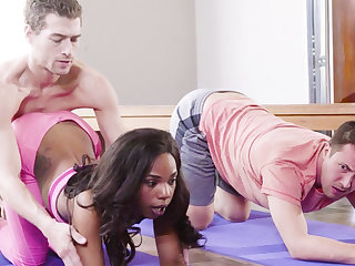 Yoga Teacher Fucked Ebony Girl in Trinity