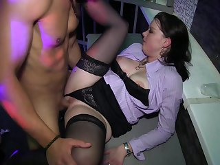 Naughty orgy porn during ill-fated take aback hard sex play