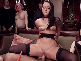 Bdsm brunch party group fucking