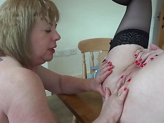 Fun With Lily May In The Larder Pt4 - TacAmateurs