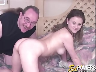 Stud nails Alex Divine from behind after licking will not hear of cunt rebuff