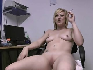 Nothing pleases Axa Jay as stripping and playing with her pussy