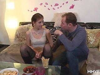 Teen Samantha In Eradicate affect Kitchen