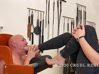 **free Casting Be useful to Students Of Reell - Foot Gagging - Cruel Reell