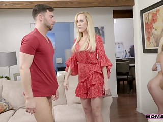 Full-grown shows stepdaughter how more deal with such a big dick