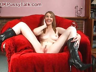 Masturbating with big toys pleases Katie K around than anything