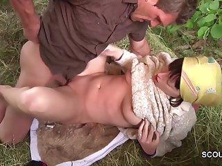 Agriculturist Couple Is Pleasuring Lifelike Hardcore Fuck